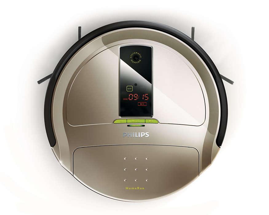 De robot die dagelijks uw vloeren schoonmaakt