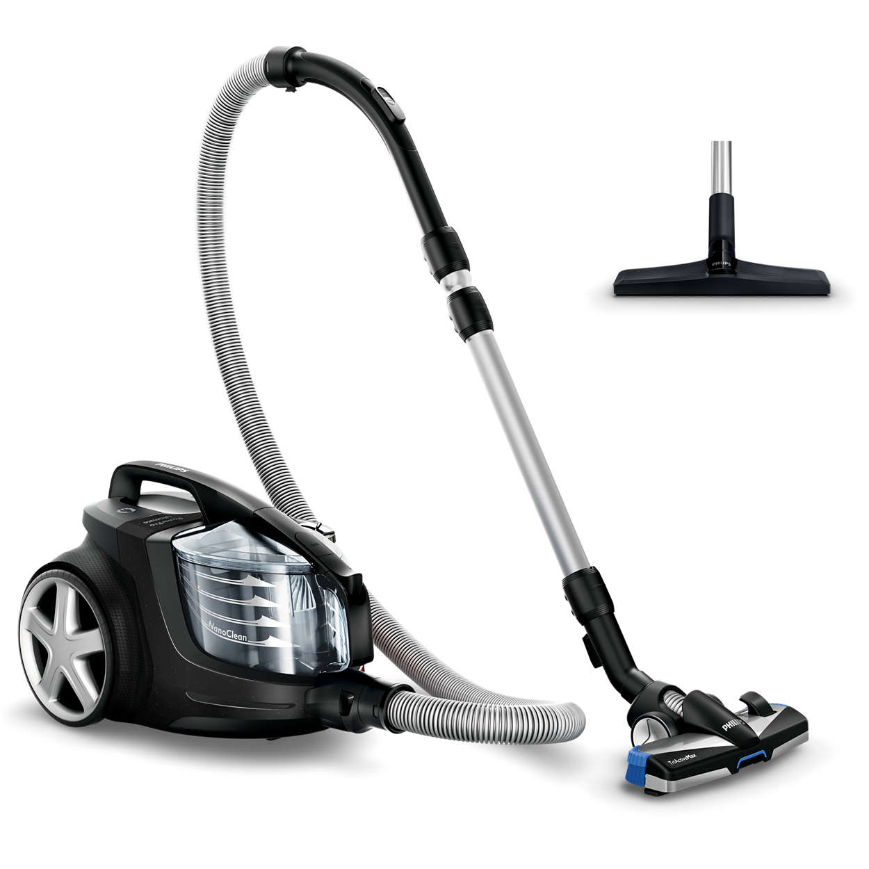 Removes more dust than any 2400-W vacuum cleaner*