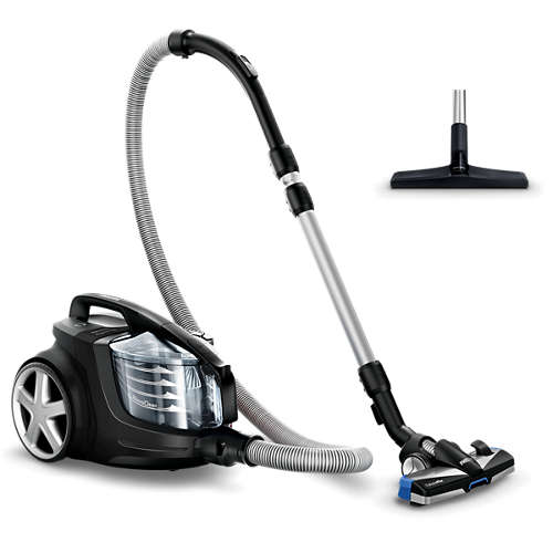 PowerPro Ultimate Bagless Cylinder Vacuum Cleaner, Anti-Allergen