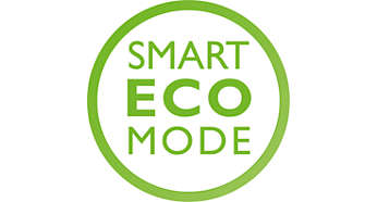 Automatically energy saving Smart ECO mode