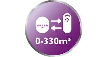 Reichweite bis zu 330Meter*