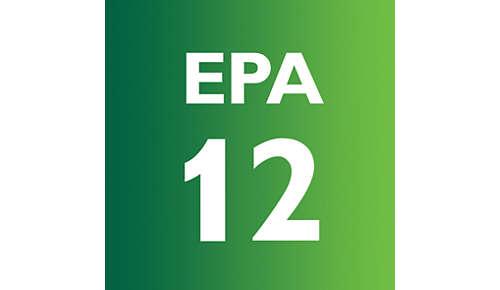 EPA-12-Filter mit 99,5% Staubfilterung