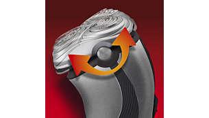 Sistema SmartTouch de seguimiento de contornos: para un afeitado rápido y eficaz