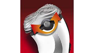 SmartTouch Contour-Following: til hurtig og effektiv barbering