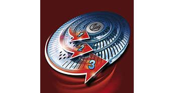 Kepala cukur Speed-XL: untuk pencukuran yang cepat dan jarak dekat
