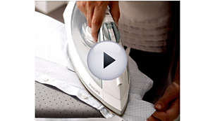 The pointed tip makes ironing along buttons and seams easy