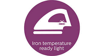 Iron temperature-ready light