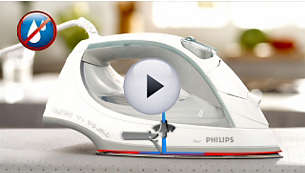 Drip-stop system keeps your garments spotless while ironing