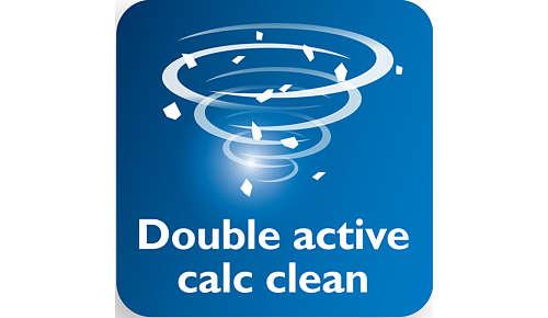 Doppelaktives Anti-Kalk-System verhindert Kalkbildung