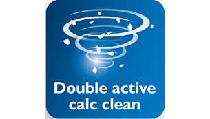 Système anticalcaire double action pour éviter la formation de dépôts de calcaire