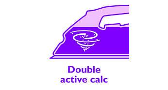Double Active Calc System voorkomt kalkaanslag
