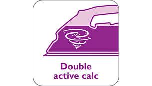 O Sistema Double Active Calc evita a acumulação de calcário