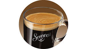 Delicious coffee foam layer for your special coffee moment