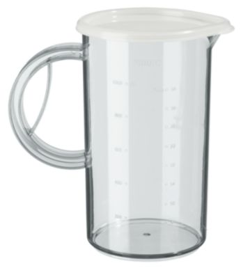 1 l beaker with lid to store soups, puree or shakes
