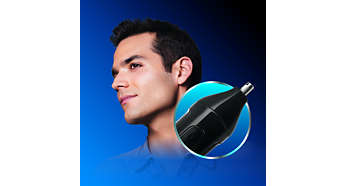 Nose, ear and eyebrow trimmer