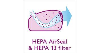 HEPA-Dichtung und HEPA-13-Filter