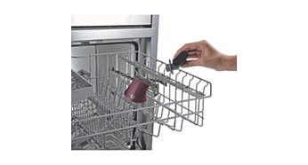 Avtakbart munnstykke som kan vaskes i oppvaskmaskin