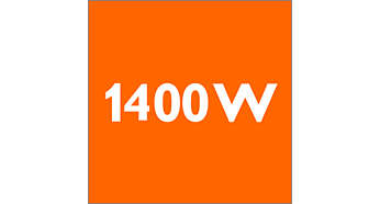1400 wattos teljesítmény