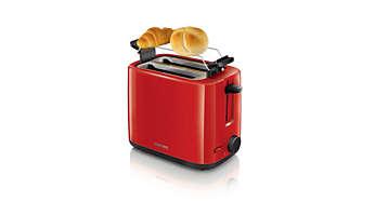 Brötchenaufsatz zum Aufbacken von Brötchen und Croissants