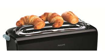 Réchauffe-viennoiseries pour réchauffer petits pains et croissants