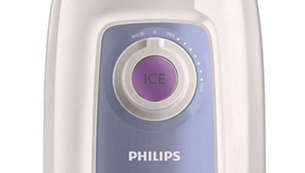 Ice crush button