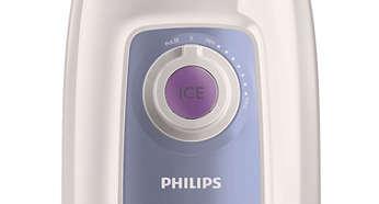 Bouton glace pilée