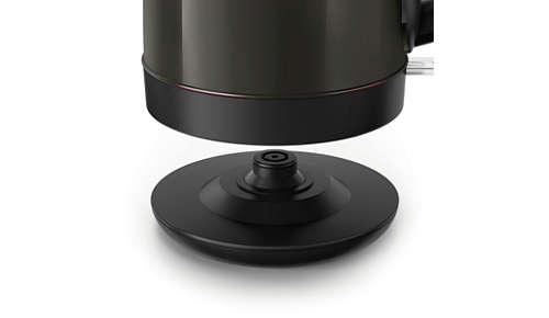 Socle 360° sans fil pour une mise en place facile
