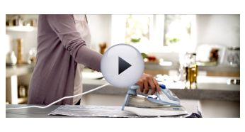 SteamGlide soleplate is Philips premium soleplate - Philips Azur Steam Iron