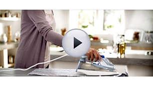 Žehlicí plocha SteamGlide je prvotřídní žehlicí plochou Philips