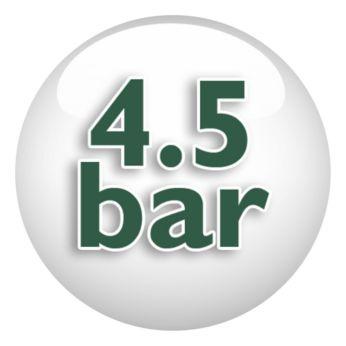 Tlak pary až 4,5 barov pre rýchle žehlenie