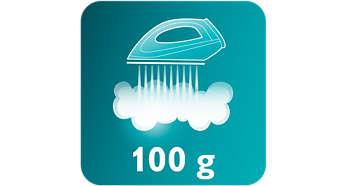 Effet pressing de 100g favorisant l'élimination des faux plis