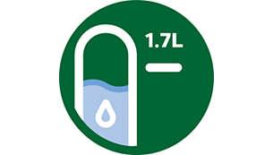 Leicht ablesbare Wasserstandsanzeige