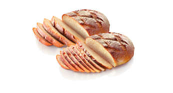 Ekstra brede slisser som passer til forskjellige typer brød