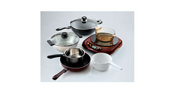 Suitable for all types of cookware