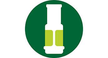 Filtro para obtener un jugo sin pulpa
