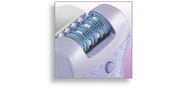 New ceramic epilation system