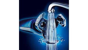 水洗式電鬍刀