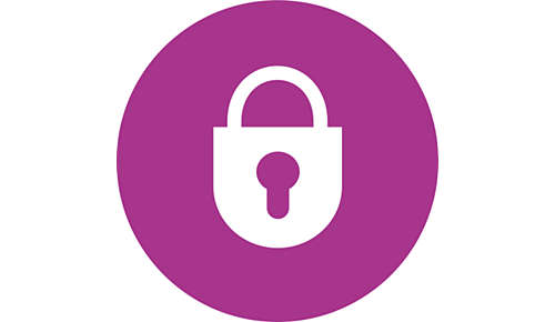 Låsefunktion som låser håndgrebene sammen for nem og sikker opbevaring