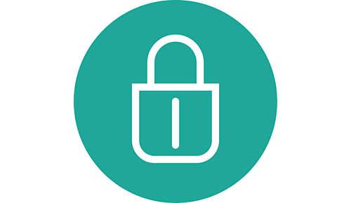 Verrouillage des plaques en position fermée pour un rangement sûr et facile