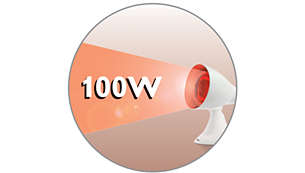 100 Watt infrared lamp