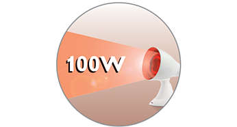 100W Infrarotlampe