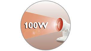 100 Watt infrared lamp