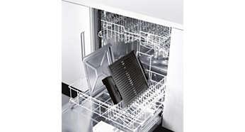 Deler som kan vaskes i oppvaskmaskin