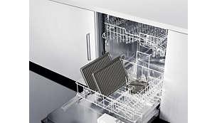 Mosogatógépben tisztítható alkatrészek