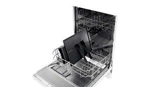 Vaatwasmachinebestendige onderdelen