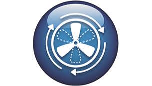 智慧型空氣測控功能自動檢測並有效控制空氣質量