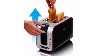 Brotlift zum einfachen Herausnehmen kleiner Brotstücke
