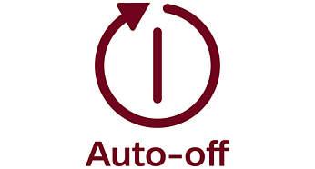 Direkte automatisk av-funksjon for sikkerhet og for å spare energi