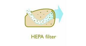 Фильтр HEPA для превосходной фильтрации выходящего воздуха