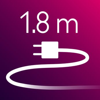 1.8 m power cord